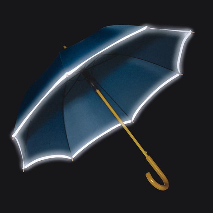 Paraguas banda reflectante