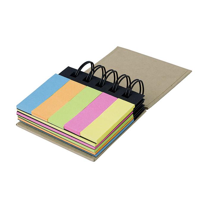 Bloc notas adhesivas colores