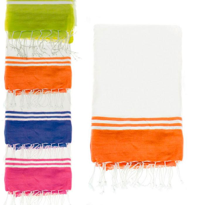 Pareo toalla rayas color