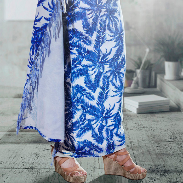 Pareo toalla diseño palmeras