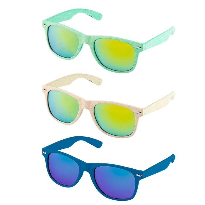 Gafas de sol fibra de trigo