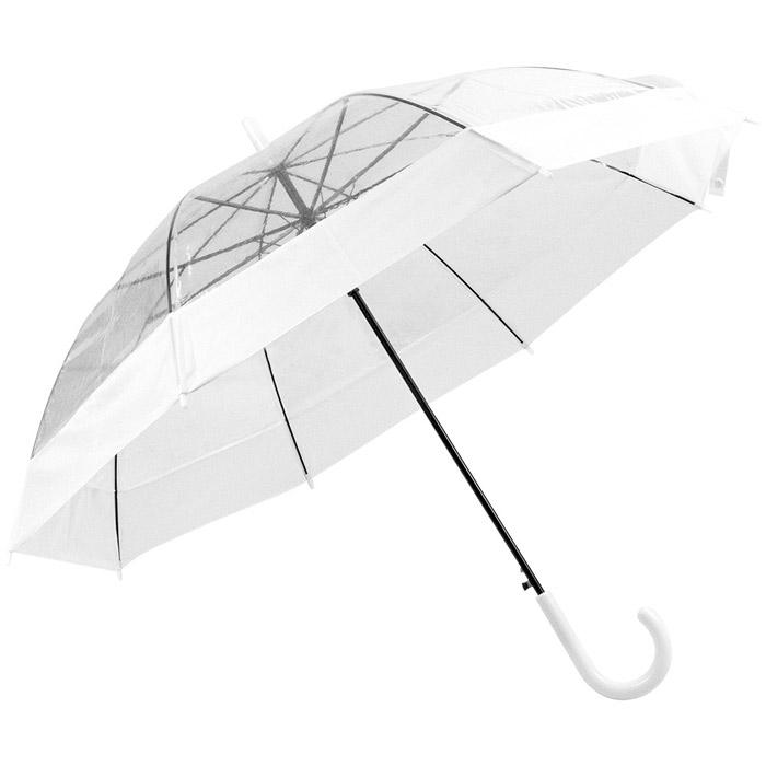Paraguas automático transparente POE poliester