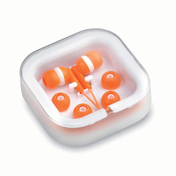 Auriculares en caja sencillos