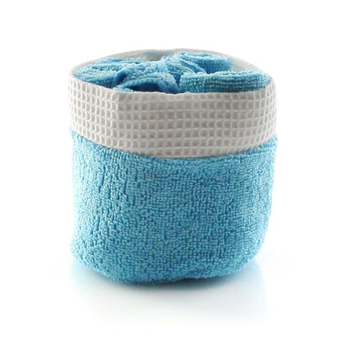 Set de toallas microfibra 30x30 cms