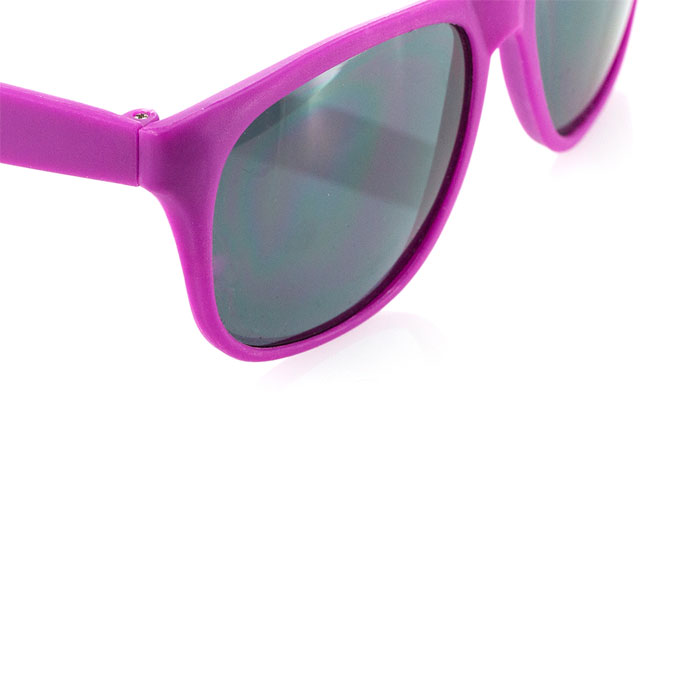 Gafas de Sol lisas cristal negro