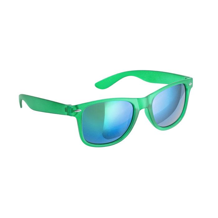 Gafas de sol semitransparentes cristales espejo