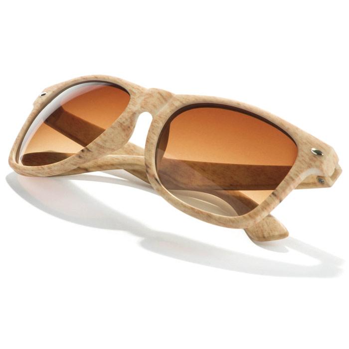 Gafas de sol imita madera