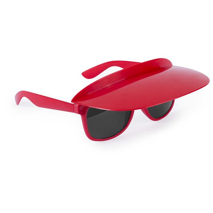 Gafas con visera plegable