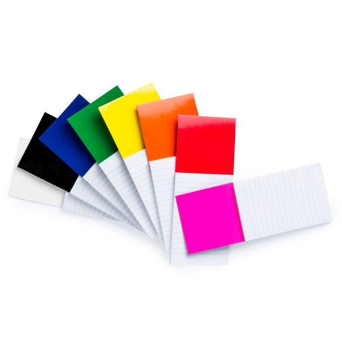Bloc con imán color Stock