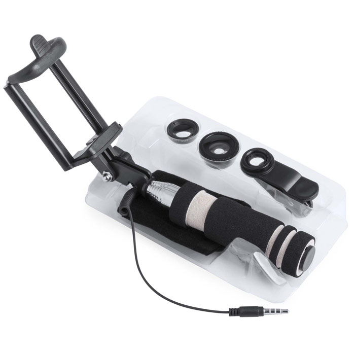 Set Monopod y lentes móvil