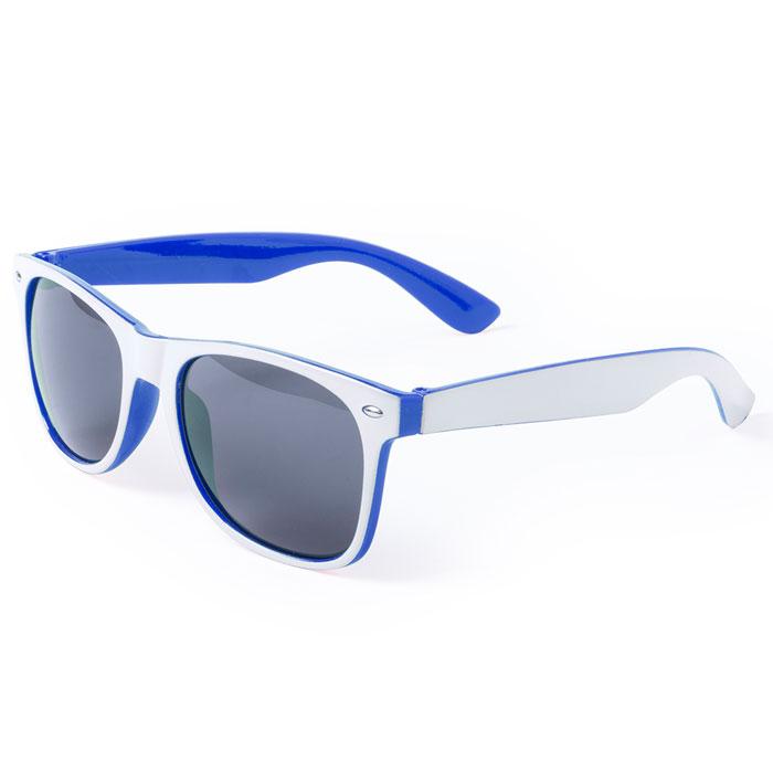 Gafas de sol bicolor blanca