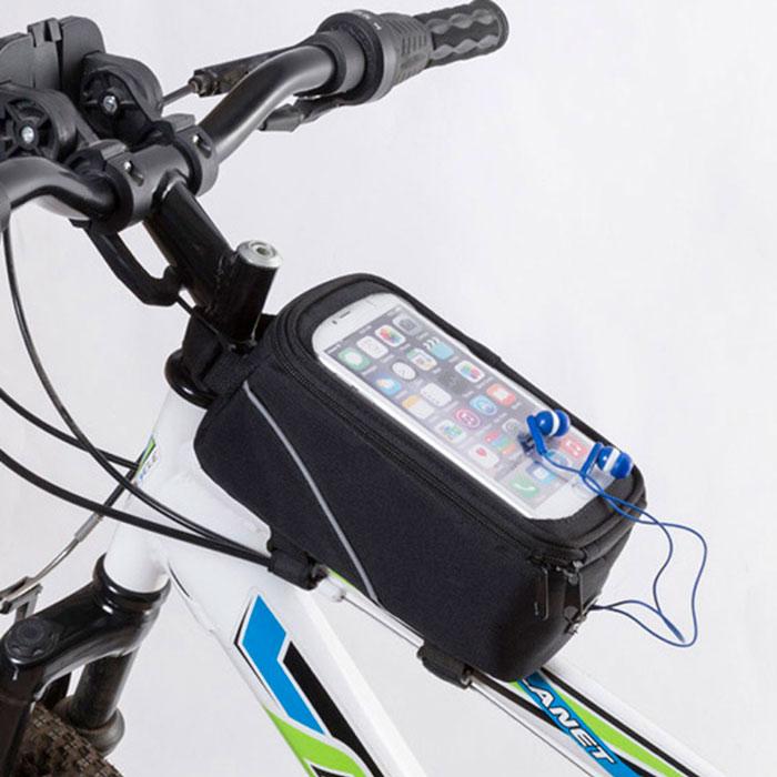 Bolsa para bicicleta con pantalla táctil Smartphone