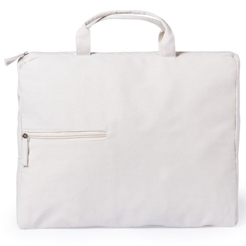 Portadocumentos algodón fuelle con bolsillo