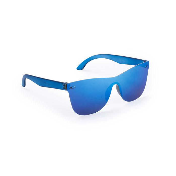 Gafas sol transparente espejo color