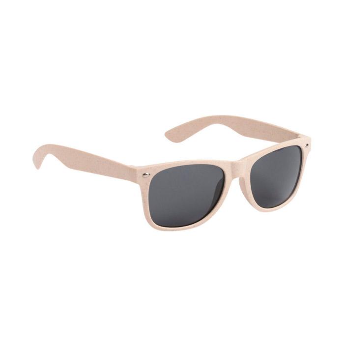 Gafas de sol fibra de bambú y PP color natural