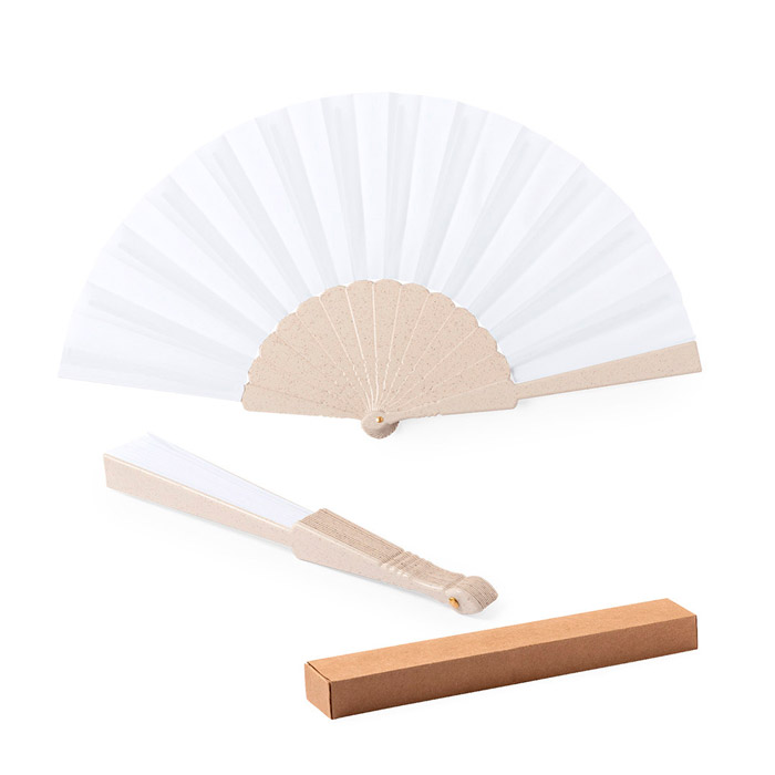 Abanico Eco fibra de bambú y RPET