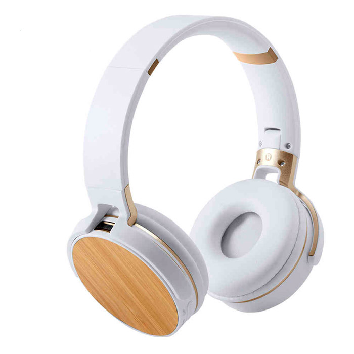 Auriculares Bluetooth® bambú radio