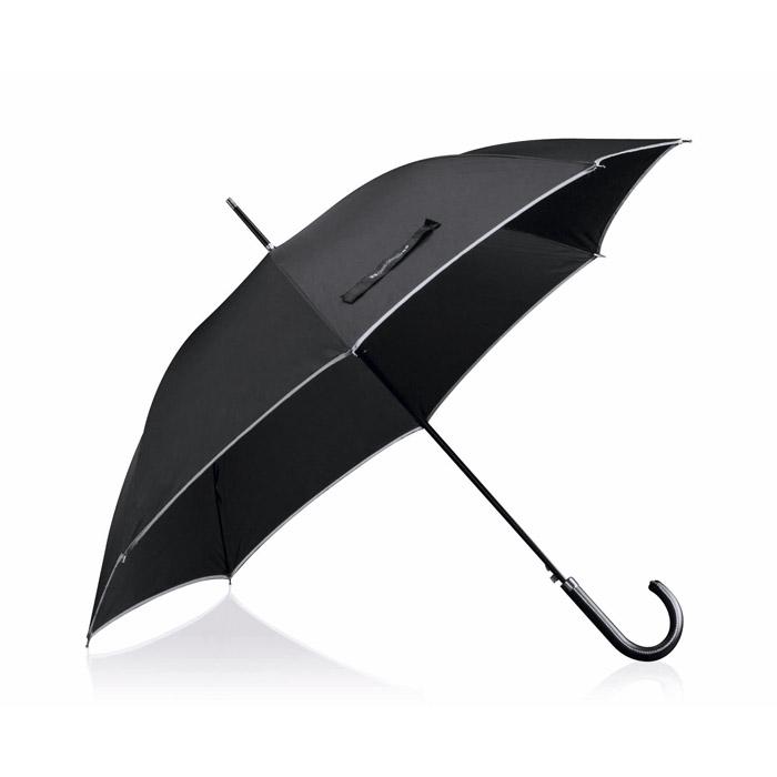 Paraguas Pongee mango polipiel - Antonio Miró