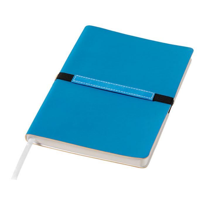 Libreta tapa blanda goma horizontal Journalbooks®