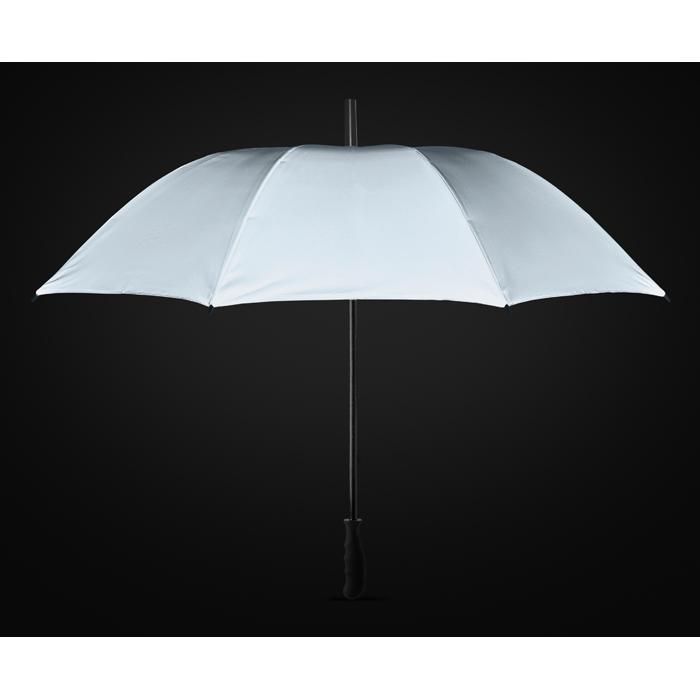 Paraguas fibra de vidrio tela altamente reflectante