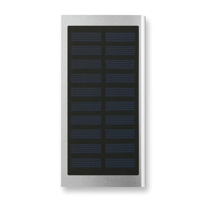 PowerBank 8000 mAh panel solar y cable