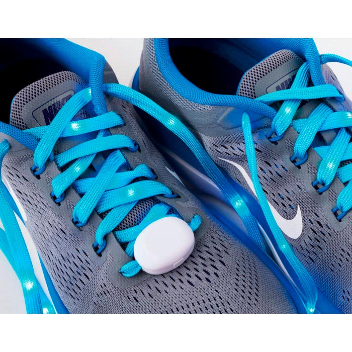 Cordones para zapatillas con luz