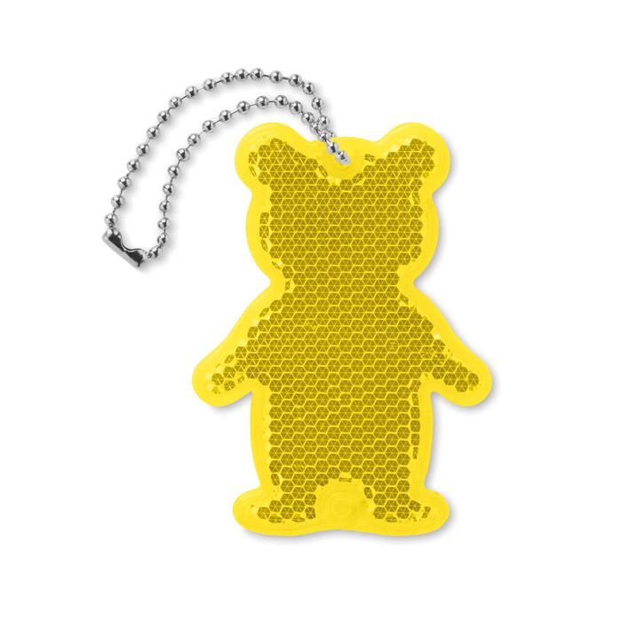 Llavero reflectante oso