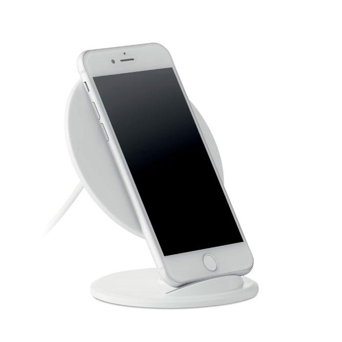Cargador inalámbrico teléfono soporte redondo