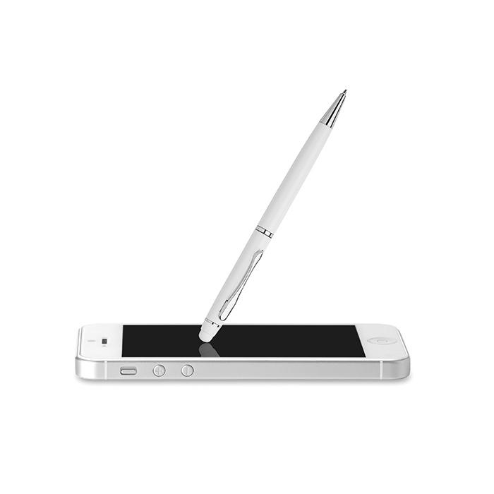 Bolígrafo aluminio pantallas táctiles en caja