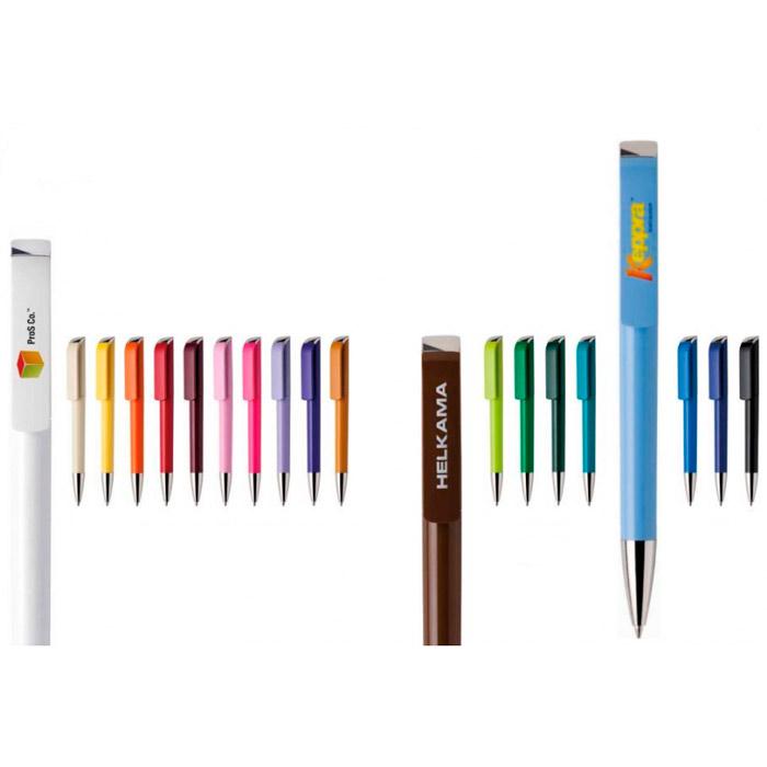 Bolígrafo Maxema® Tag Color cromado