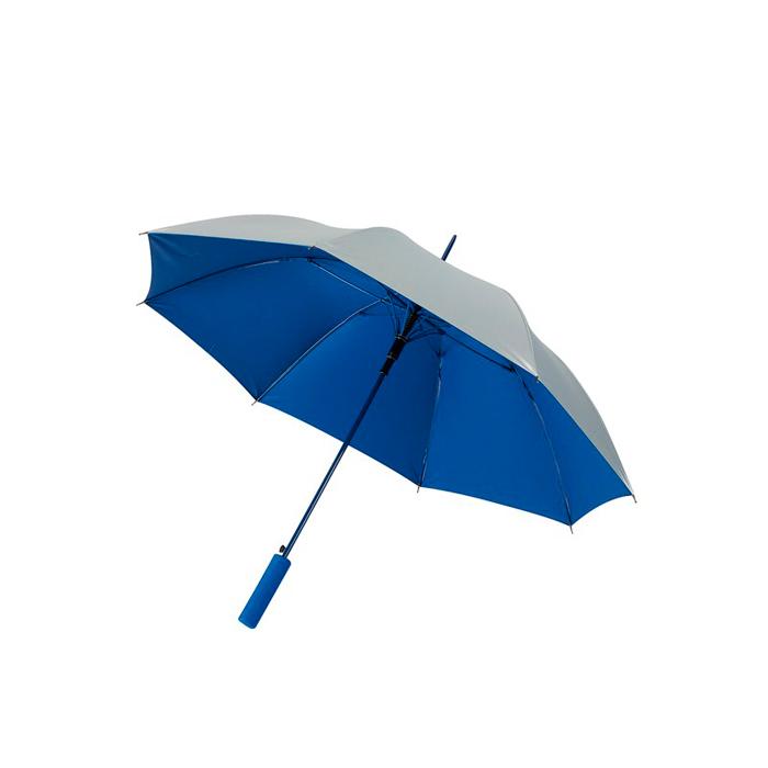 Paraguas plata interior color