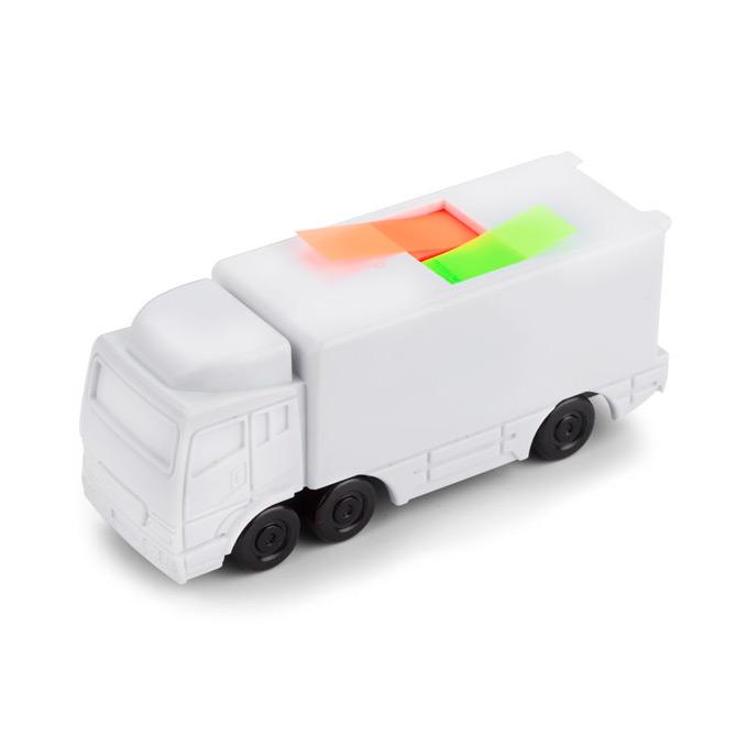 Camión sobremesa porta marcadores