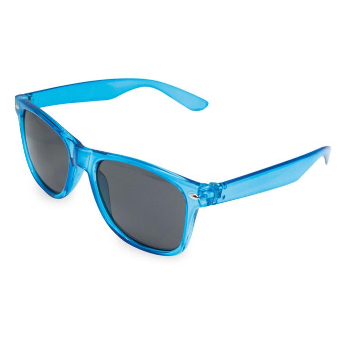 Gafas de sol montura transparente