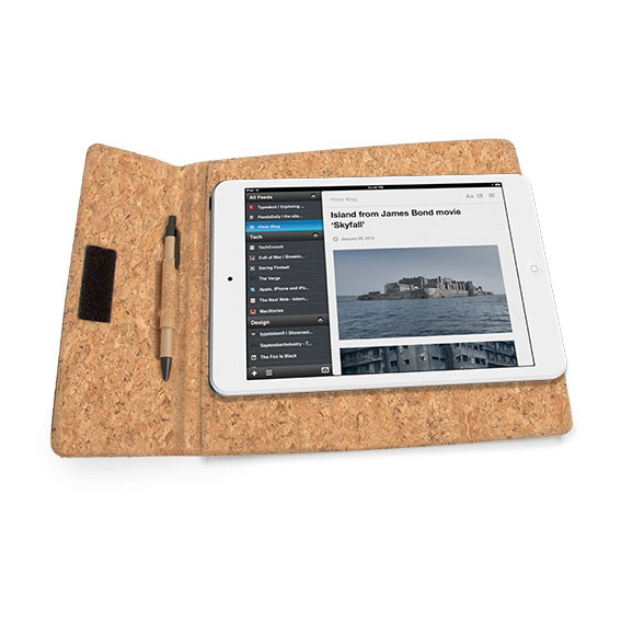 Funda tablet corcho natural