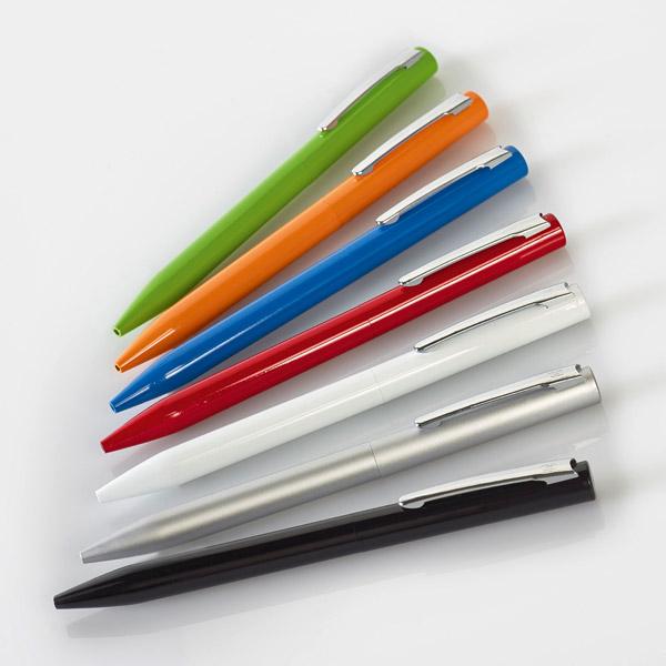 Bolígrafo metal carga metálica larga duración