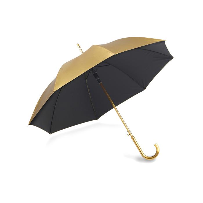 Paraguas oro / plata