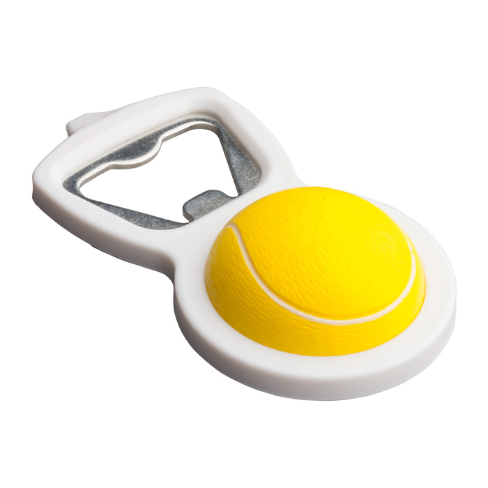 Abridor tenis pelota blanda