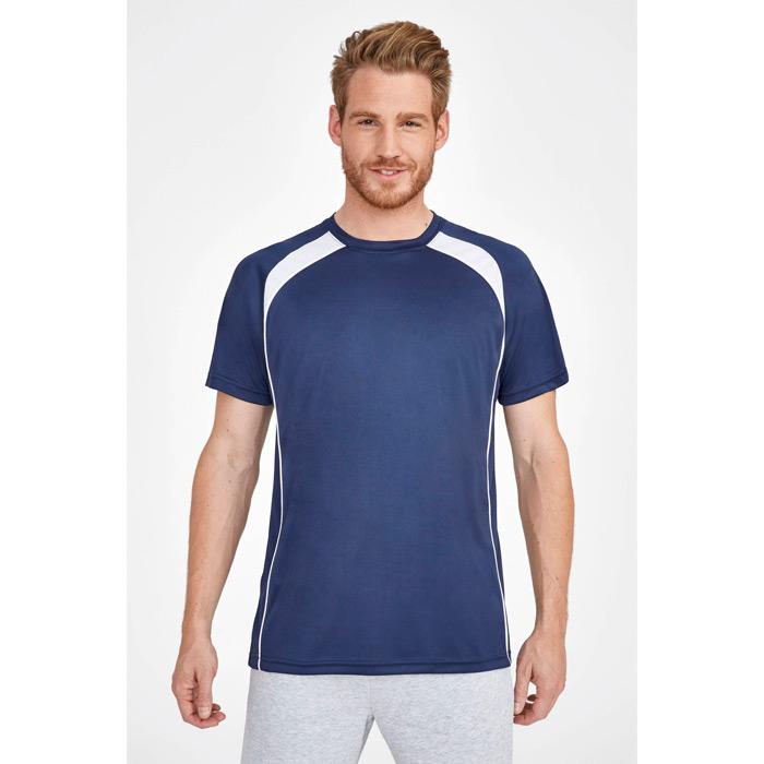 Camiseta técnica bicolor unisex