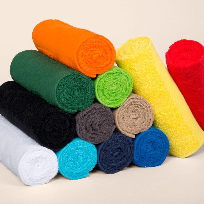 Toalla de mano de algodón de rizo 30x50 cms