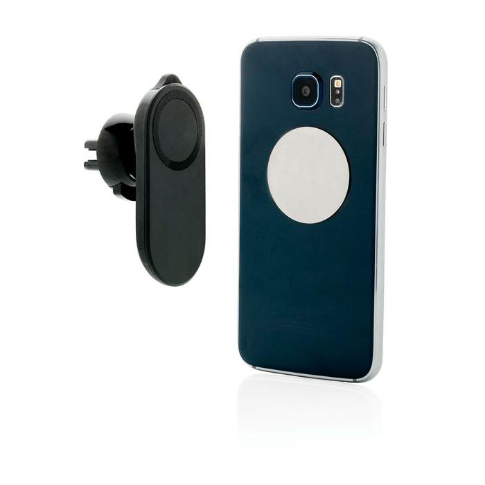 Soporte teléfono coche con accesorio seguridad